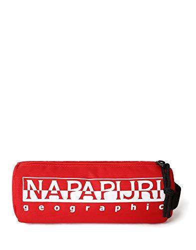 Napapijri Happy Pc Re - Astuccio portamatite, 22 cm, Rosso accesso (Rosso) - NP0A4EA3