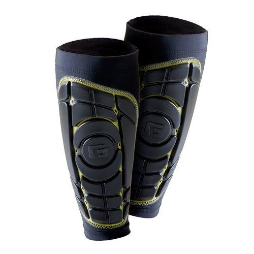 G-Form Pro-S Elite Shin Guards, Black/Yellow, Medium