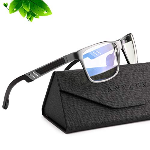 ANYLUV Blue Light Blocking Glasses Women Men - Computer Gaming...