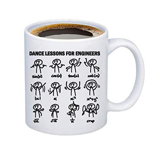 TIIMG Funny Mathematician Gift Dance Lesson For Engineer...