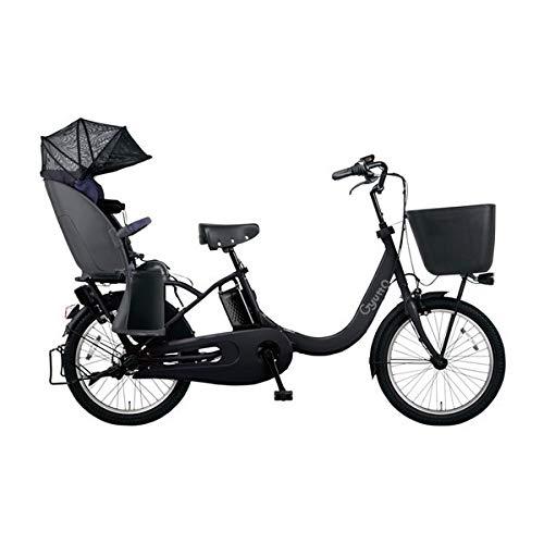 PANASONIC ギュット・クルームR・EX 電動アシスト自転車 (20インチ・内装3段変速) BE-ELRE03-B マットチャ...