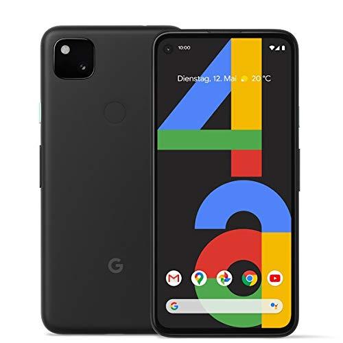 "Google Pixel 4a 14,7 cm (5.8"") 6 GB 128 GB 4G USB Tipo C Negro Android 10.0 3140 mAh Pixel 4a, 14,7 cm (5.8""), 6 GB, 128 GB, 12 MP, Android 10.0, Negro"