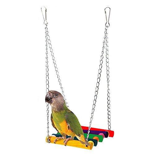 Bello Luna Columpio de pájaro hamaca columpio colorido...