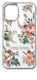 sslink iPhone12 mini アイフォン12ミニ クリア ハードケース ワイルドフラワー (レッド) 花……
