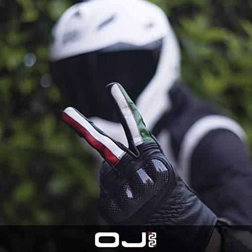 Guanti 4 stagioni OJ FIGHTER 1.8 in pelle con protezioni, italia 3XL