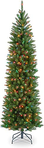 National Tree Company Artificial Christmas Tree | Includes Stand | Kingswood Fir Pencil - 7.5 ft