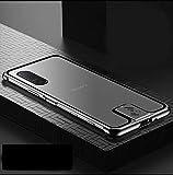 Sony Xperia 5 II 5G ケース アルミ バンパー 航空宇宙アルミ + 背面半透明のデザイン 強化マ……