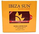 Organic Self Tanner Natural Ingredients Sunless Tanning Wipes for Face & Body - Skin Friendly - Self Tanning Towelettes - Paraben Free-Cruelty Free - Vegan -Tan Towels - For all skin tones -8 count.