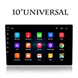 Ezonetronics 10 inch Double Din Car Stereo Bluetooth Android System with Navigation FM Touch Screen Radio GPS USB SD Mirro Link Player 1G DDR3 + 16G NAND Memory Flash
