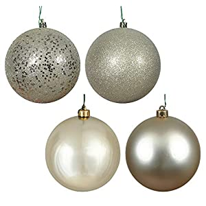 Multiple sizes and colors available For both indoor and outdoor use Ornaments are Shatterproof