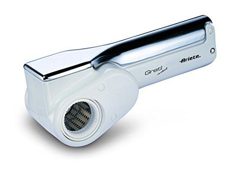 Ariete 44 Grat Metal - Grattugia Elettrica Ricaricabile per grattugiare il parmigiano direttamente...