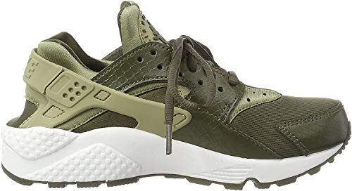Nike Wmns Air Huarache Run, Zapatillas para Mujer, Verde Neutral Olive Cargo Khaki Summit White 201, 36.5 EU