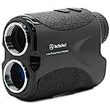 TecTecTec VPRO500 Golf Rangefinder - Laser Range Finder with Pinsensor - Laser Binoculars - with Battery