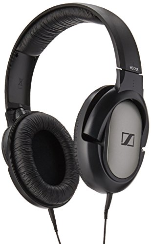 Sennheiser HD 206 Audífonos  supraaurales, Negro/Plata