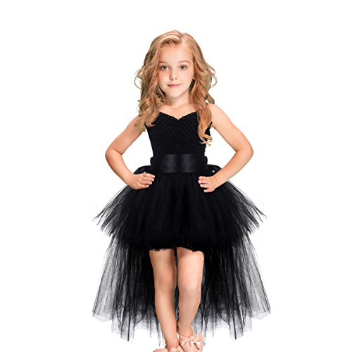 Handmade Girls Tutu Dresses Girls Tulle Dress for Birthday Party, Photography Prop, Special Occasion Black