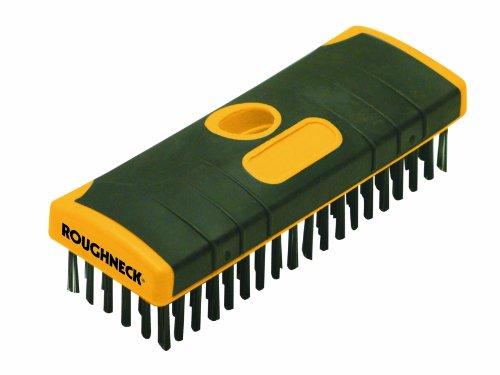 Roughneck ROU52060 Heavy-Duty Scrub Brush Soft-Grip