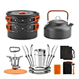 Awroutdoor Multi-PCS Mini Kit de Casseroles Camping +...
