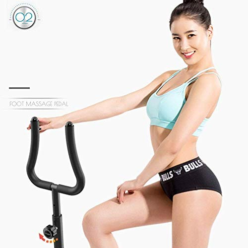 zvcv Stepper Mini armrest Stepper Home Weight Loss Machine Mute Foot Fitness - Pedal Machine 8