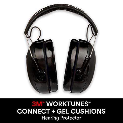 3M WorkTunes Connect + Gel Cushion Hearing Protection