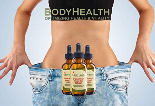 BodyHealth Optimum Weight Management Formula (60 Day Supply) Natural Weight Loss Liquid Drops, for Rebalancing Metabolic Hormones, with Medically Designed Diet Plan, Quality Ingredients 5