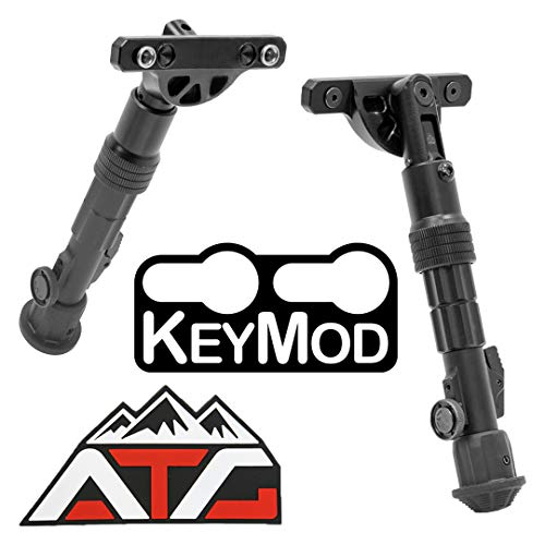 Patch and Leapers Recon Flex KeyMod Bipod Center Height 5.7'...