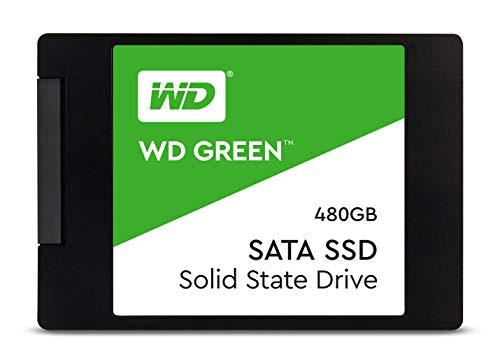 Western Digital WD Green 480 GB 2.5 inch SATA III Internal Solid State Drive (WDS480G2G0A)