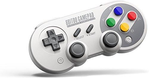8Bitdo Gamepad Wireless Bluetooth SF30 PRO, Joystick Controller Joypad Classico per Android, Windows, macOS, Steam e Switch(SF30 PRO) WeChip