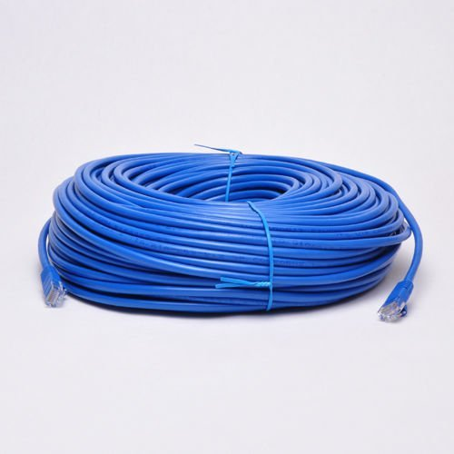 UbiGear New 300ft Blue RJ45 CAT6 Ethernet LAN Network Internet Computer Solid Wire 23 AWG UTP Cable