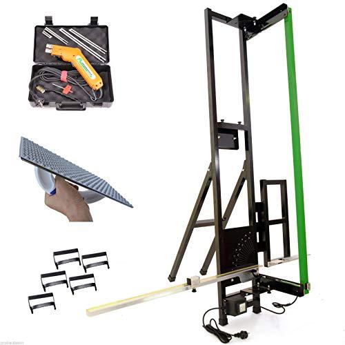 Styroporschneider Alucutter + Styropor-Handschneider Styrocutter + Schleifraspel + Styrogrips