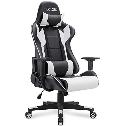 Homall Gaming Chair Office Chair High Back Computer Chair Leather Desk Chair Racing Executive...