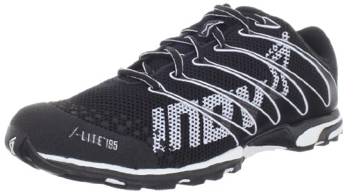 Inov-8 F-Lite 195-U, Black/White, 12 Men/ 13.5 Women M US