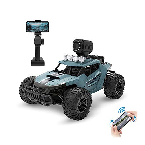 LXWM Veicolo Fuoristrada telecomandato con Telecamera HD WiFi Giocattolo Telecomando Robot Giocattolo per Bambini Natale Regalo di Compleanno