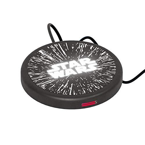 Wireless Charger Star Wars Logo – Cargador de batería sin cables de inducción magnética original Star Wars, Tribe WC103000