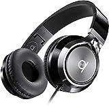 Artix Cuffie CL750 Pieghevoli con Microfono, NRGSound Cuffie Compatte, Perfette per Bambini/Adolescenti/Adulti (Nero)