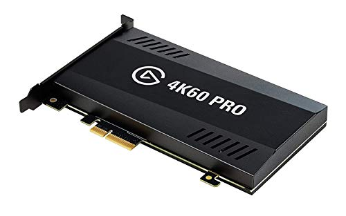Elgato Game Capture 4K60 Pro - 4K 60fps capture card with ultra-low latency...