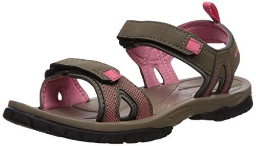 Northside Women's Mali Sandal, tan/Coral, 10 M US