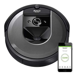 iRobot Roomba i7 (7150) Robot Vacuum- Wi-Fi Connected, Smart Mapping, Works with Alexa, Ideal for Pet Hair, Works With Clean Base