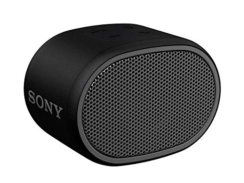 SRS-XB01 Speaker Wireless Portatile con Extra Bass, Resistente all'Acqua, Bluetooth, Nero