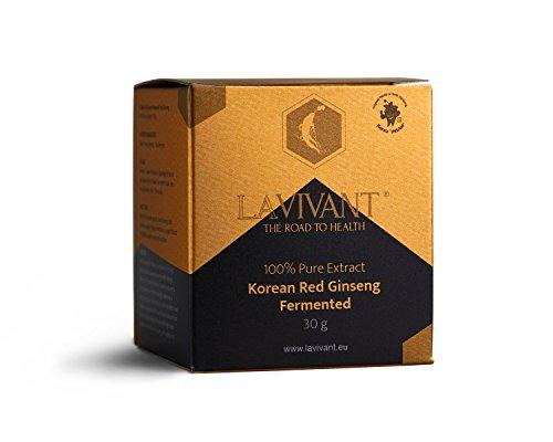 Estratto di ginseng rosso coreano fermentato, 110 mg/g, 30 giorni