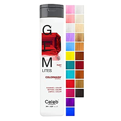 Gem Lites Ruby Red Colorwash