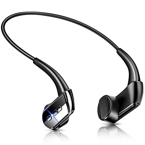 【最新Bluetooth5.1技術 Qualcommチップ搭載】 骨伝導イヤホン Bluetooth イヤホン ブルートゥース イヤホ...