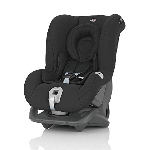 Britax Römer Kindersitz 0 - 4 Jahre I 0 - 18 kg I FIRST CLASS PLUS Autositz Gruppe 0+/1 I Cosmos Black