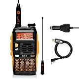 BAOFENG GT-3 Makr-II Dual Band Transceiver, FM Radio, 136-174/400-520 MHz, Chipsets Upgraded, ABS Frame and Programming Cable