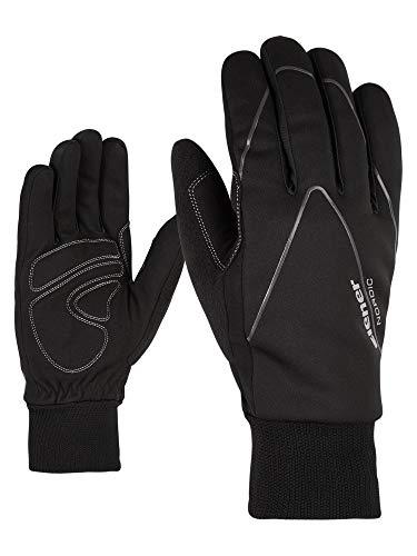 Ziener Erwachsene UNICO glove crosscountry Langlauf/Outdoor/Funktions-handschuhe, black, 6,5