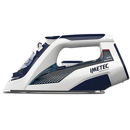 Imetec 9246 ZeroCalc Ferro da Stiro, Tecnologia Anticalcare, Piastra Inox 2400 W, Colpo Vapore 150 g