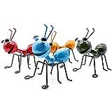 YiYa Fourmi en métal Un Groupe de 4 Couleurs Insecte Mignon pour accrocher Mur...