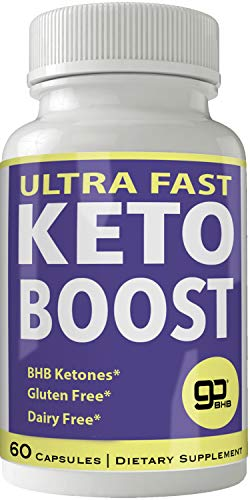 Ultra Fast Keto Boost Weight Loss Pills with Advanced Natural Ketogenic BHB Burn Fat Supplement Formula 800MG Capsules 1