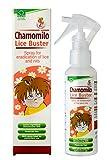 Pulvérisateur avec huile de camomille pour l'éradication et le traitement des...