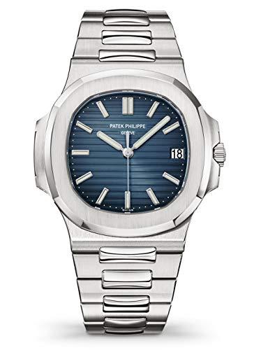 Patek Philippe 5711/1A-010 Automatic Black-Blue Dial Luxury Men's Watch 1