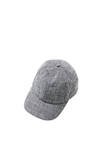 ESPRIT Accessoires Damen 088EA1P003 Baseball Cap, Schwarz (Black 001), One Size